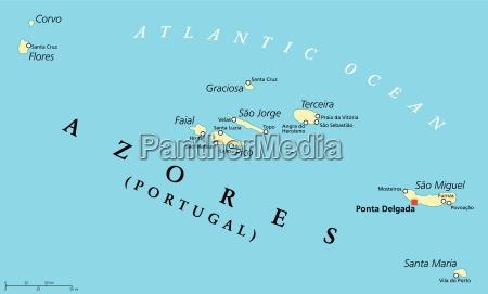azores political map