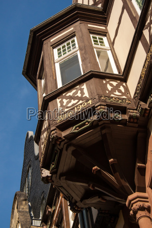 timbered oriel