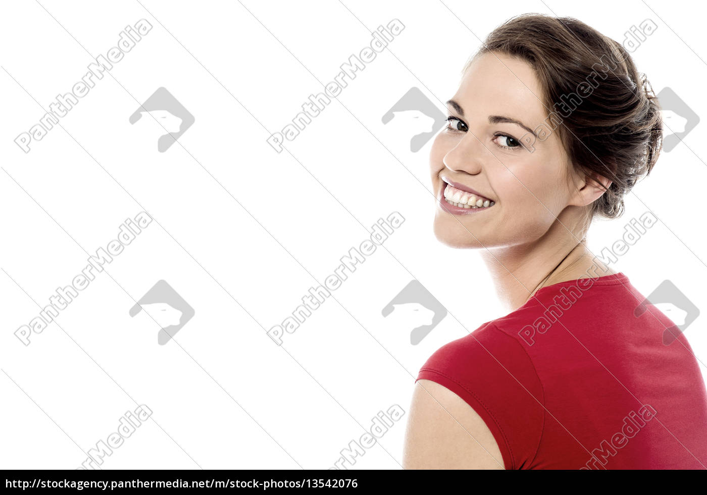 pretty, woman, has, turned, back - 13542076