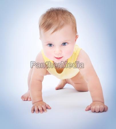 rastejar rastejando retrato bebe infantil retrato