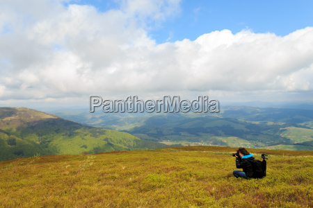 landscape photo shoot at mount gemba