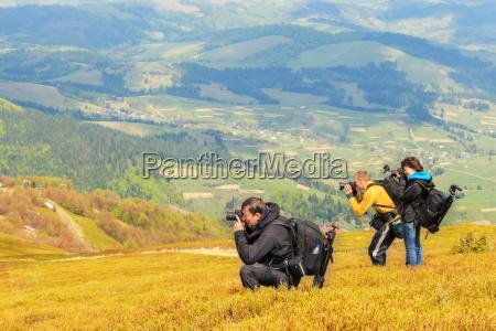 landscape photography in carpathians