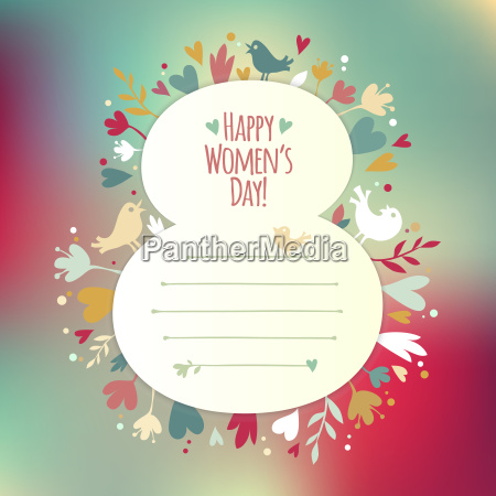 beautiful instagram card for womens day