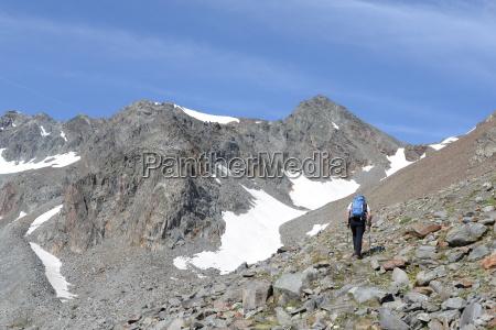 advance to daunjoch stubai alps