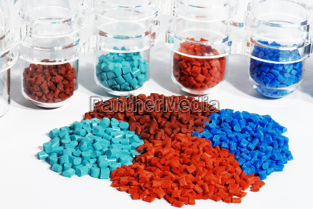 plastic synthetic material recycling pellets kunststoffgranulat