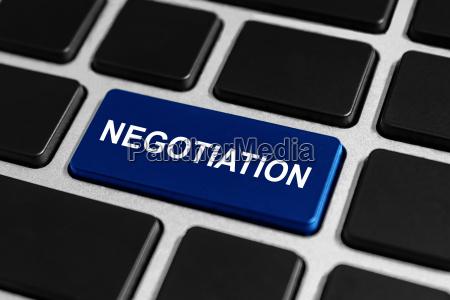 negotiation button on keyboard