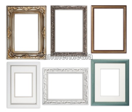 many picture frames