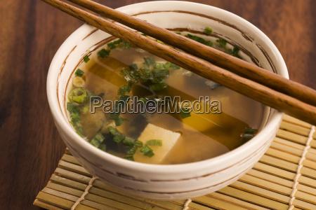 japanske miso suppe
