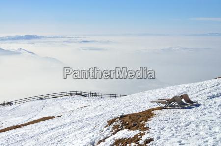 mountain top of the rigi kulm