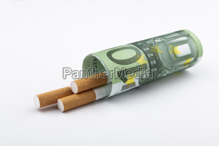 cigarettes and euros