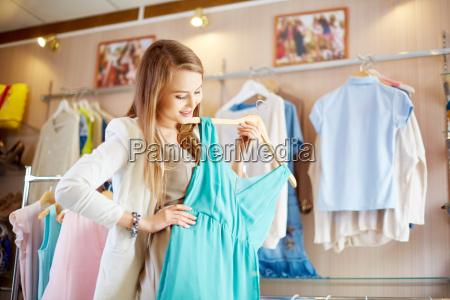 shopaholic with dress