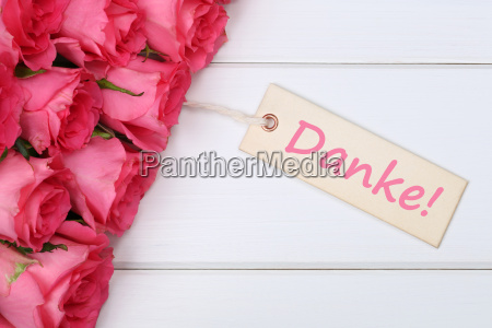 thanks with roses flowers for mothers