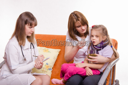 pediatrician prescribes treatment child whose mother