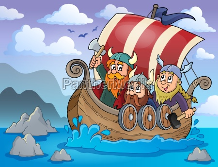 viking ship theme image 2