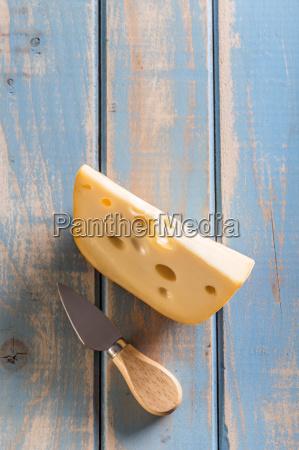 emmental cheese piece