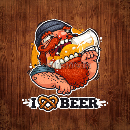 man, loves, beer - 13657952