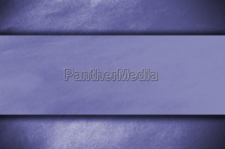 blue papper on blue background