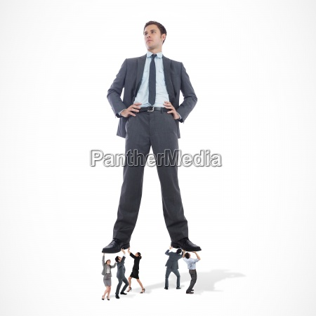 composite, image, of, business, team, supporting - 13662422