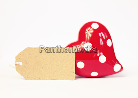 lovely greeting card with heart