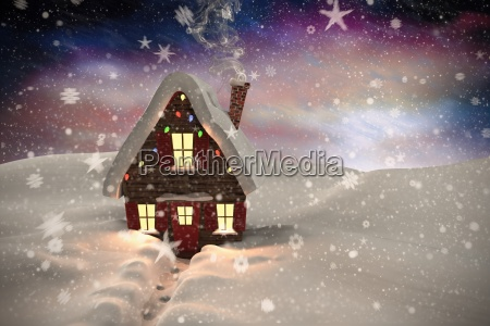 composite, image, of, christmas, house - 13683014