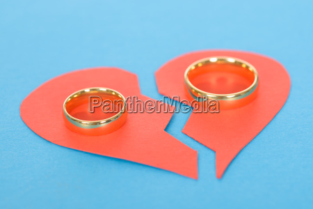 ring with broken heart