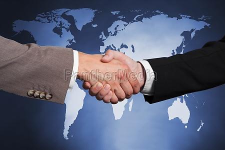 businessmen, shaking, hands - 13699134