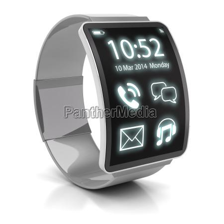 smartwatch 3d render