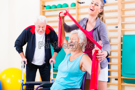 seniors in motion rehabilitation