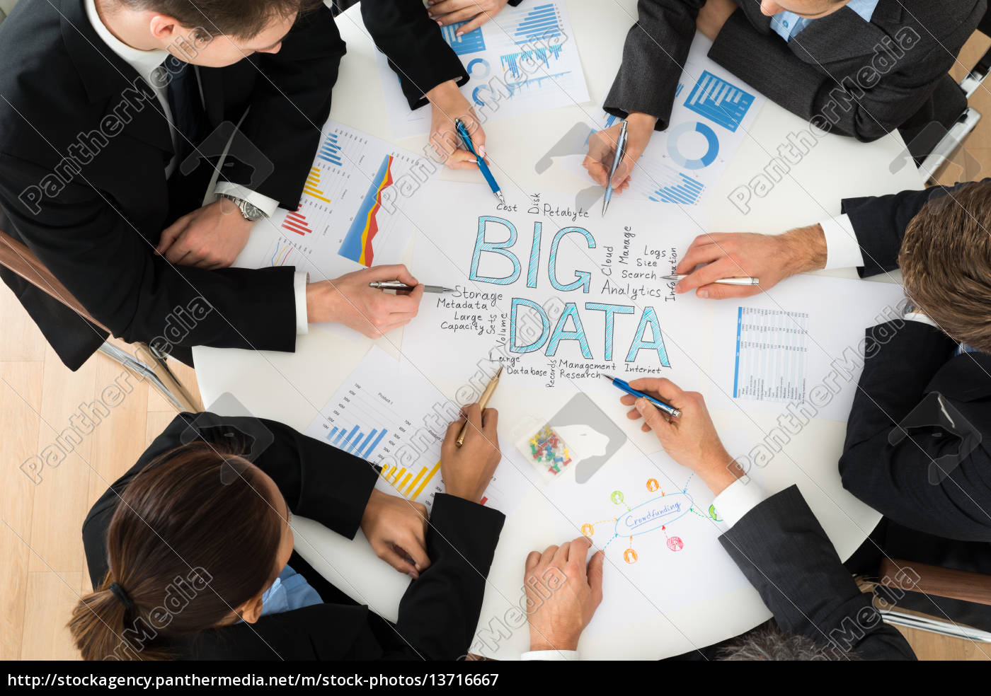 businesspeople, , planning, bigdata - 13716667
