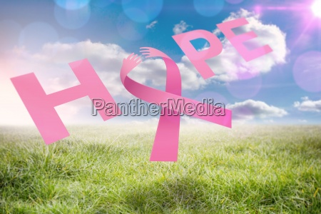 composite image of breast cancer awareness