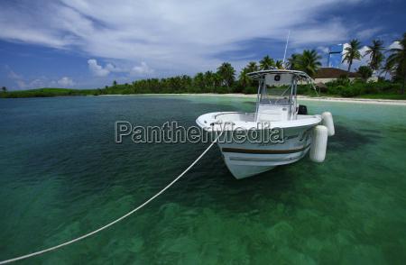 karaibskiej wyspie
