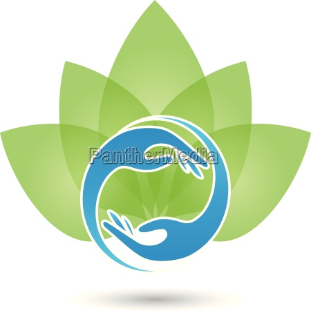 logo hands physiotherapy naturopath