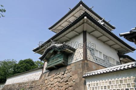 ishikawa gate of kanazawa castle