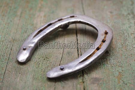 horseshoe for good luck