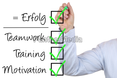 businessman with business success concept training