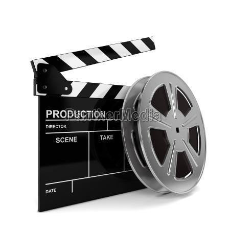 cinema, film, and, clap, board - 13739933