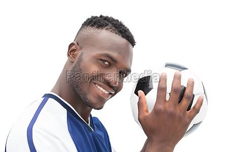 close up retrato de un jugador