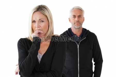 mature, couple, having, relationship, problems - 13745921