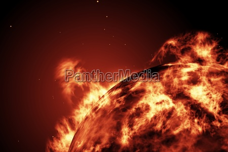 large, fire, ball, of, the, sun - 13749933