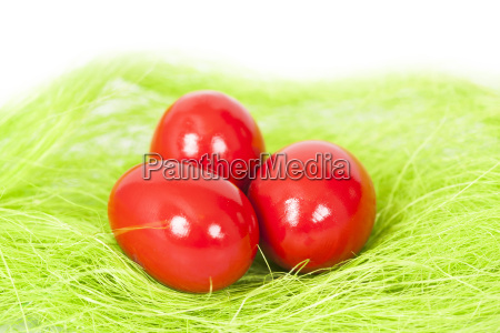 red easter egges