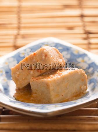 chili fermented bean curd tofu