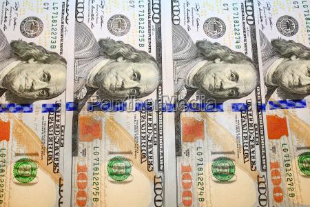 hundred dollar bank notes