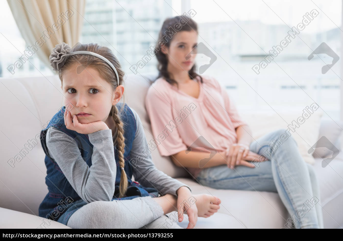 mother, and, daughter, not, talking, after - 13793255