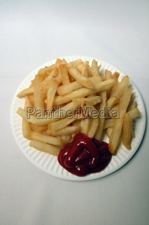 fries french fries fast food junk