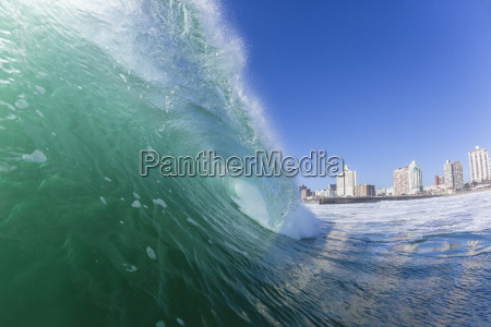 wave durban beach landscape