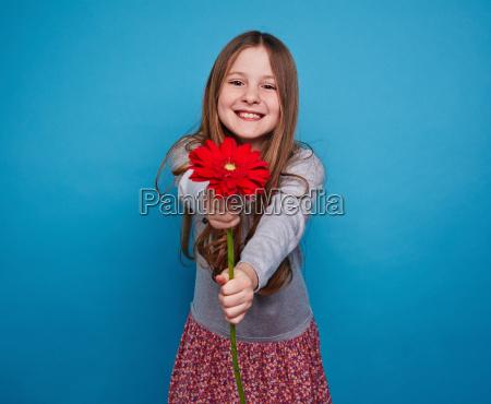 flower from girl