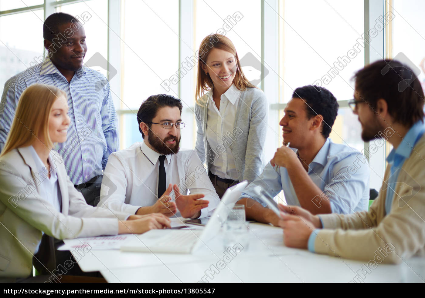 meeting, of, chief, and, managers - 13805547