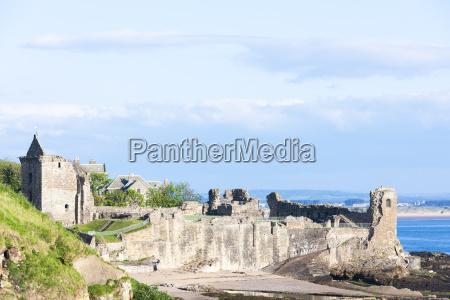 saint andrews castle fife scotland