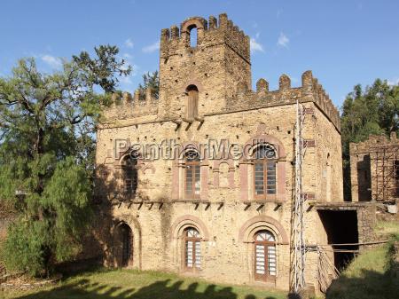 palace ruins of gondar ethiopia africa