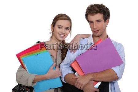two, university, students - 13823901